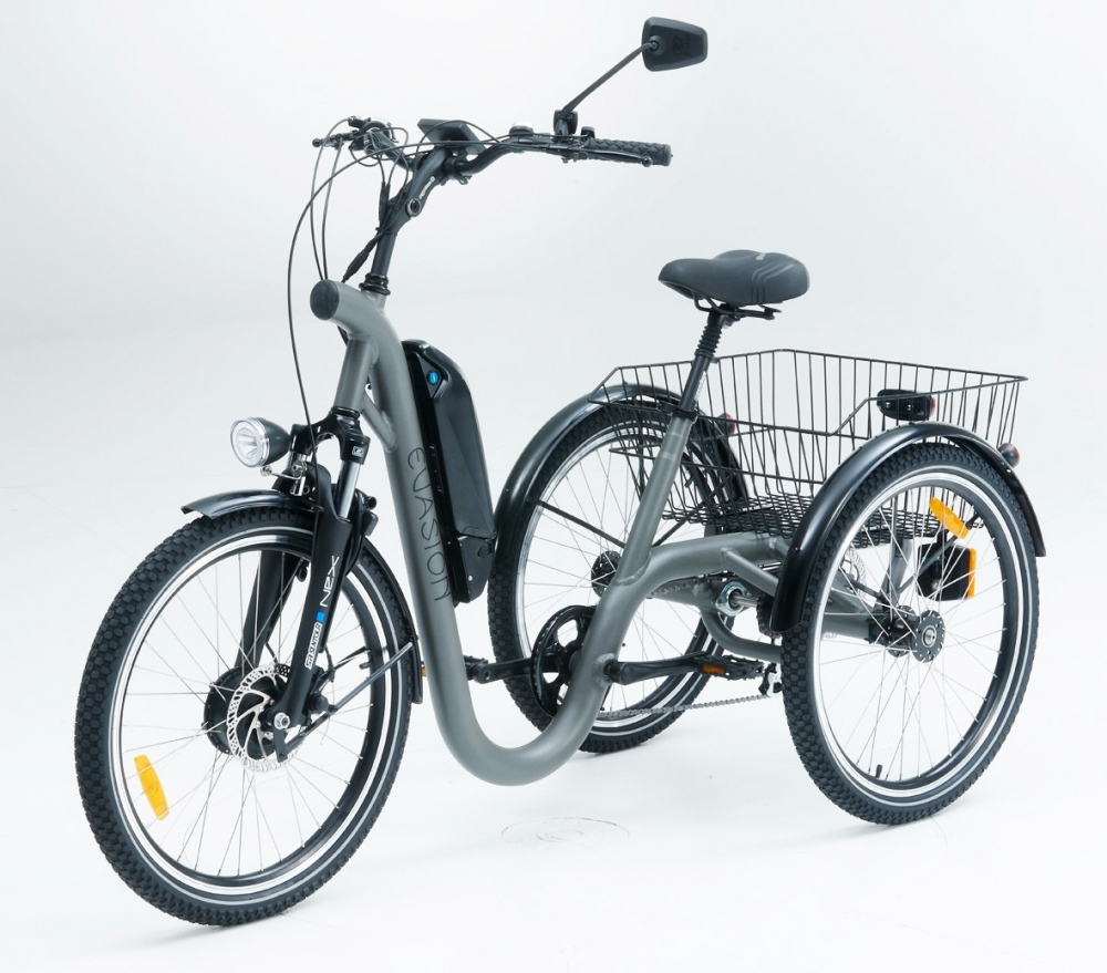 Tricycle evasion grey anthracite 24 1