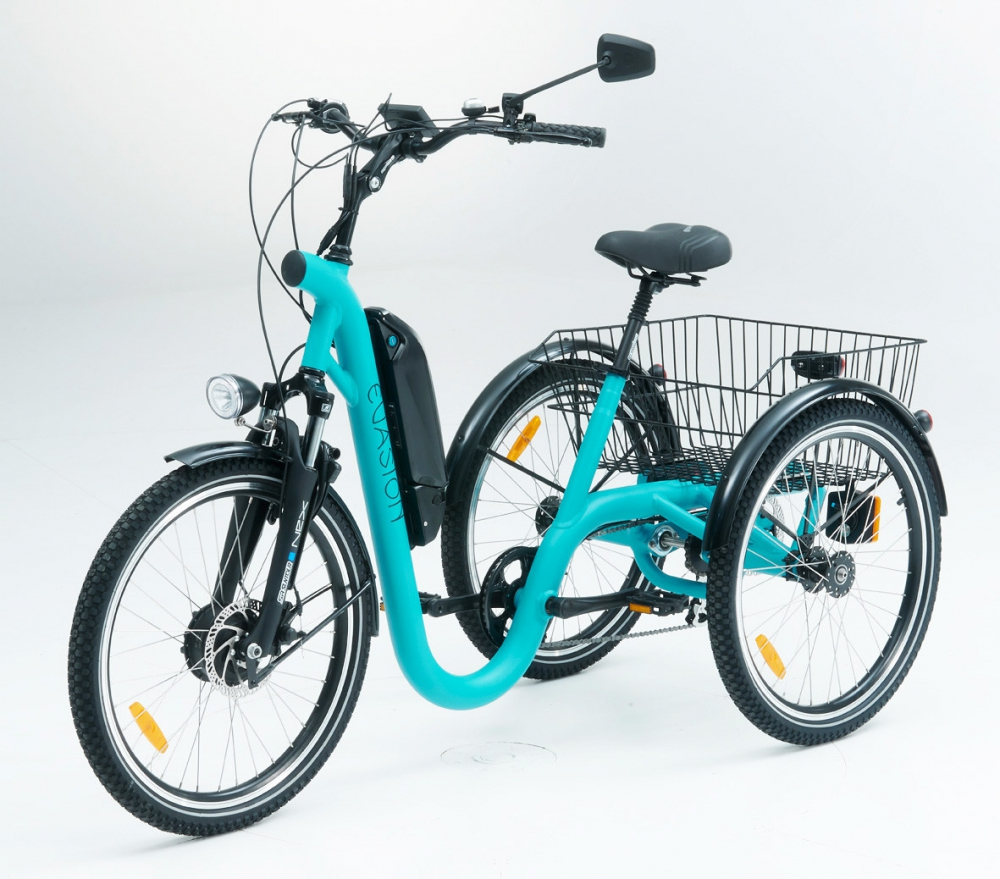 Tricycle evasion turquoise 24 1