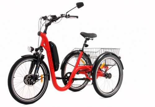 Tricycle evasion red